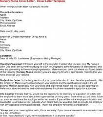 nursing cover letters for resumes registered nurse job seeking