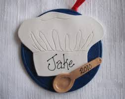 chef ornaments etsy