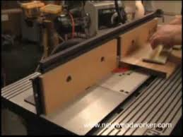 bosch router table accessories bosch ra1181 benchtop router table review youtube