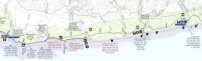 Map Of West Coast West Coast Trail Day 4 Carmanah Creek To Camper Bay Kevin U0027s