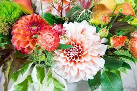 autumn garden party flowers vancouver