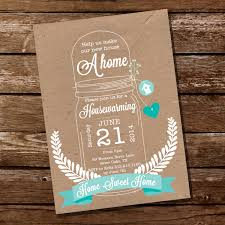 housewarming invite shabby chic housewarming invitation housewarming party mason