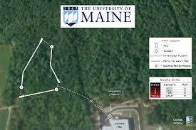University Of Maine Map University Of Maine Professional Disc Golf Association