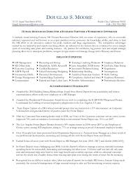 It Cover Letter Examples For Resume by Moore Douglas Hr Director Resume 2010 Assistant Director Sample