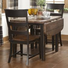 Drop Leaf Kitchen Table For Small Spaces Kitchen Marvelous Black Drop Leaf Table Round Drop Leaf Table
