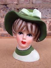lady head planter ebay