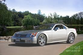 cadillac xlr coupe 2007 cadillac xlr sport coupe photograph by dave koontz