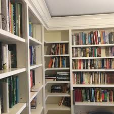 Floor To Ceiling Bookcases Floor To Ceiling Bookcase Shelving Finally Installed
