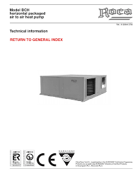 bch technical information thermostat heat pump