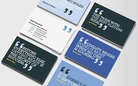 cards for business business cards should be a conversation starter something to be