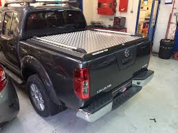 nissan navara in for the supply and fitting of a mountain top