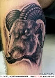 aries tattoo art i like the goat cool tattoos pinterest
