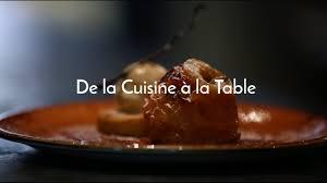 maitre de la cuisine de la cuisine à la table atelier maître albert