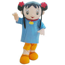 real pictures deluxe ni hao kai lan mascot costume halloween