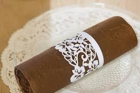 rond de serviette mariage le rond de serviette de mariage s invente 30 idées