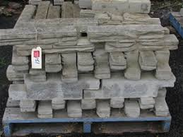 Bush Rock Garden Edging Pallet Approx 66 Walling Blocks Or Garden Edging Ezi Bush