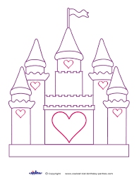 Incredible Ideas Castle Coloring Pages Free Printable For Kids Coloring Pages Castles