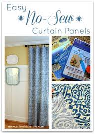 Make Curtains From Sheets This Is Genius Here Is A Simple Tutorial To Make Curtains From A