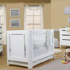 Yellow Curtains Nursery by Bedroom Cozy Brown Wood Sears Baby Cribs With White Mattress And