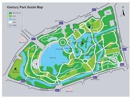 Shanghai China Map by Shanghai Century Park Map Century Park In Shanghai Travel Map Of