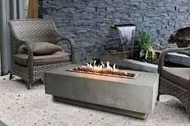 Gas Firepit Table Elementi Granville Concrete Gas Pit Table Reviews Wayfair