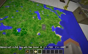 How To Use Minecraft Maps Map Frame Bibliocraft