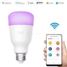 what is an e27 light bulb yeelight yldp06yl wifi control smart light bulb work with amazon
