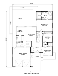 adobe southwestern style house plan 3 beds 2 50 baths 1597 sq