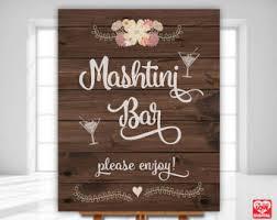 Mashtini Bar Toppings Potato Bar Sign Etsy