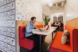 High Tech Desk Modern Office Design Ideas Wework Creator