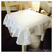 dining chair seat covers 2perfection decor x back dining chairs makeover with white