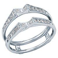 engagement ring enhancers ring guards ring enhancers ring wraps helzberg diamonds