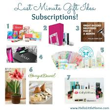 last minute gifts for last minute gift idea a subscription