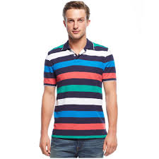 nautica men u0027s striped performance deck polo shirt u2013 emenmodern