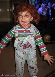 scary costumes for kids chuckie scariest kid costume picmia