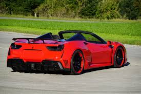 ferrari 488 convertible ferrari 488 spider gets a visual and performance overhaul by