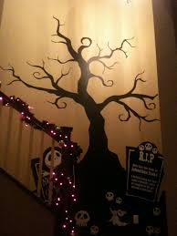 creepy tree wall decal nightmare before by pinktoblue