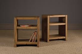 Small Side Table Plank Bookshelf Side Table By Indigo Furniture