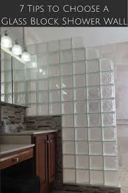 Glass Block Designs For Bathrooms by 813 Best Glass Block Showers Images On Pinterest Glass Block