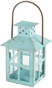 amazon com kate aspen vintage lantern blue home u0026 kitchen