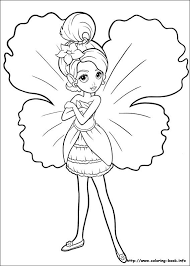204 barbie coloring pages images
