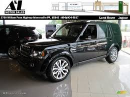 land rover lr4 black 2014 santorini black metallic land rover lr4 xxv edition 4x4
