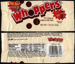 home theater candy display a walk through whoppers packaging history collectingcandy com