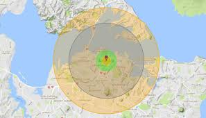 Live Attack Map Auckland Would Face 250k Casualties In North Korean Nuclear Attack