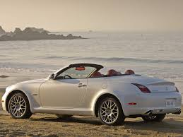 lexus convertible 2007 lexus sc pebble beach edition hardtop convertible side