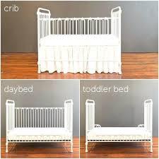 Convertible Crib Vs Standard Crib Barn Wood Crib Convertible Standard Mattress Size Australia Baby