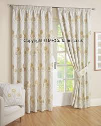 White Ready Made Curtains Uk Rectella Julian Charles Montrose Pencil Pleat Curtain From