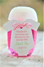 Baby Shower Favor Messages - 6 fun and creative baby shower games hand sanitizer onesie and