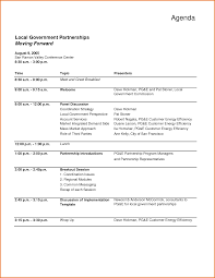 sample agenda template word amitdhull co