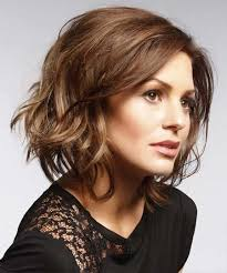 short loose wave hairstyle loose waves hair style brown short hair popular haircuts
